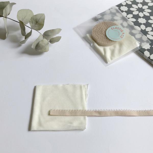 Kit lancement culotte fantaisie coloris peau et ivoire