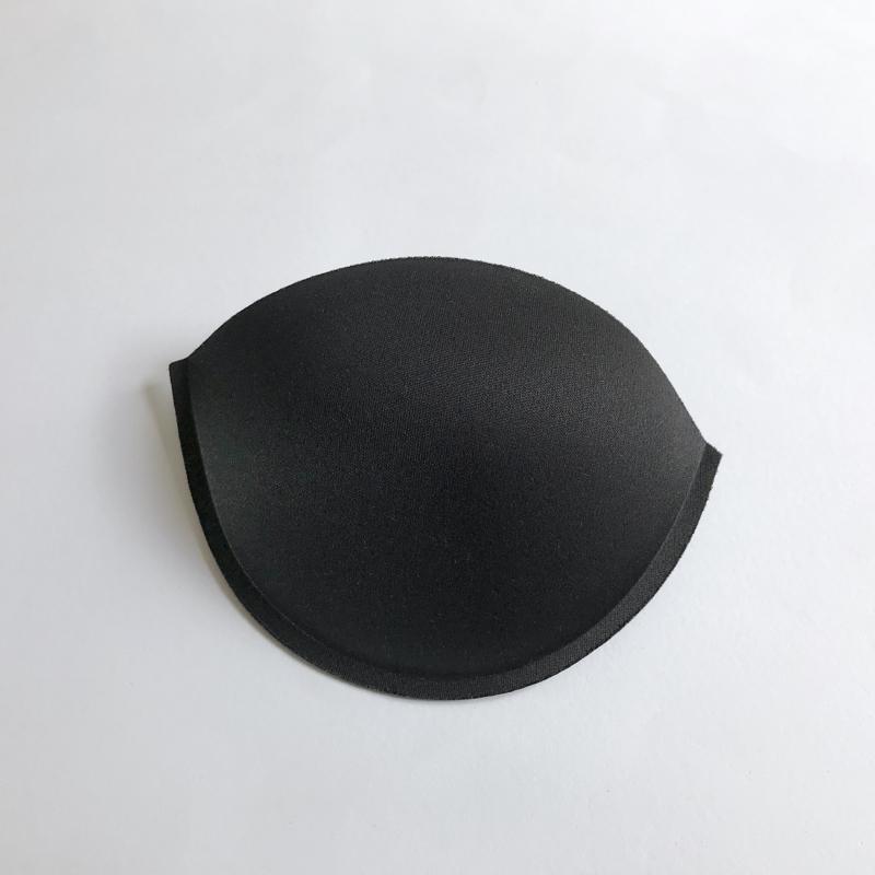 Coque soutien-gorge bandeau rond noir