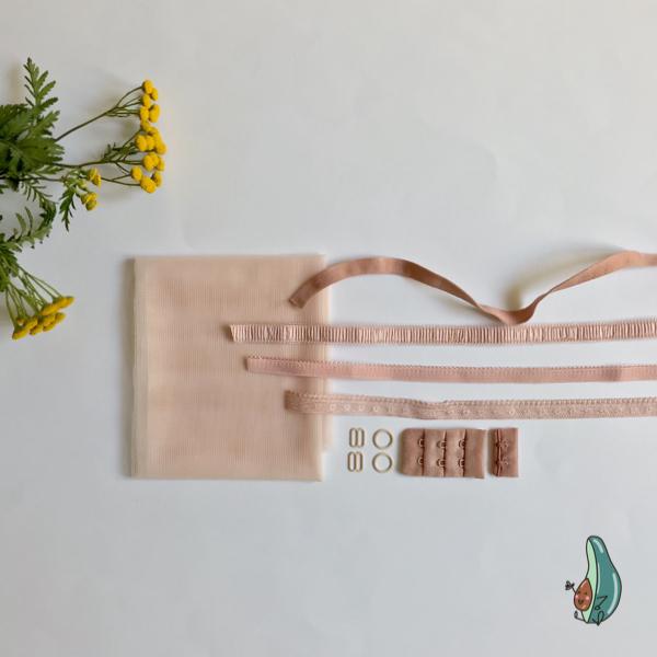 Kit lancement soutien-gorge rose
