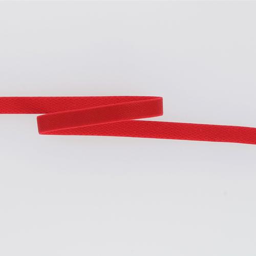 Bretelle simple mate rouge