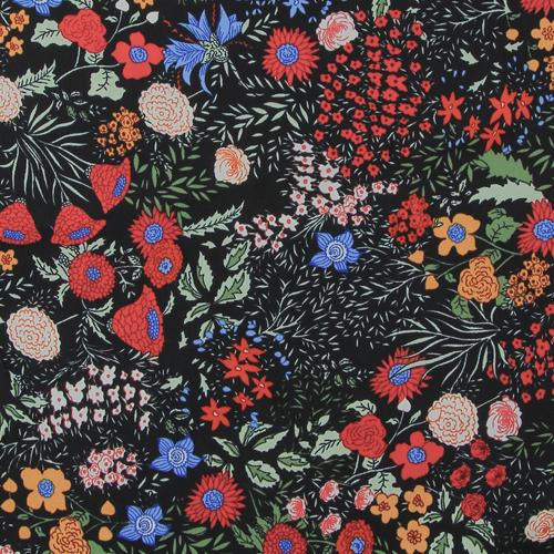 Tissu imprimé fleurs d\'été