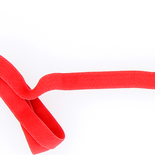 Bande élastique dos 15 mm rouge