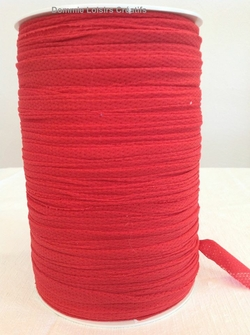 JERSEY TULLE ROUGE AJOURE