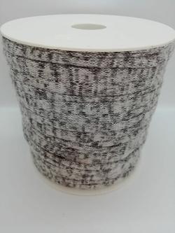 Trapilho coton lycra gris chiné