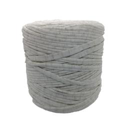 Trapilho coton beige strié or
