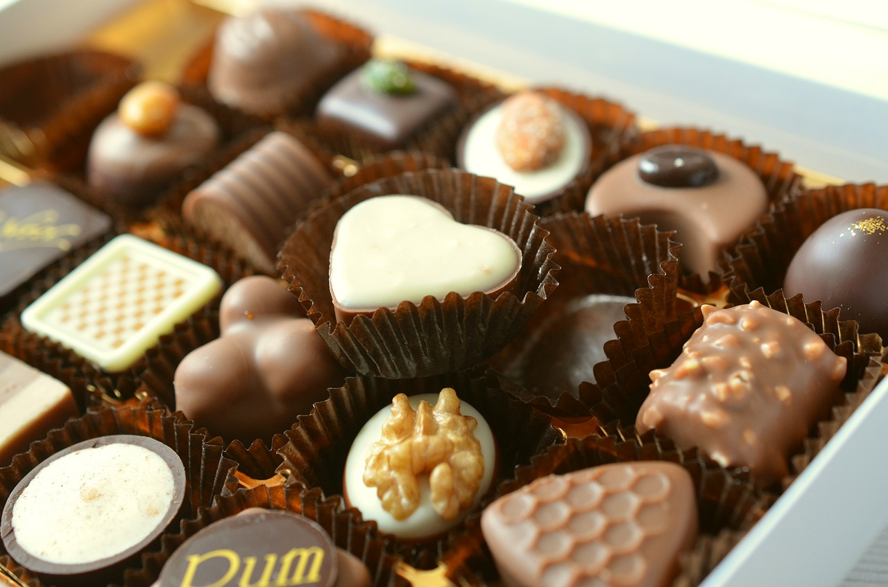 Chocolats sans gluten*