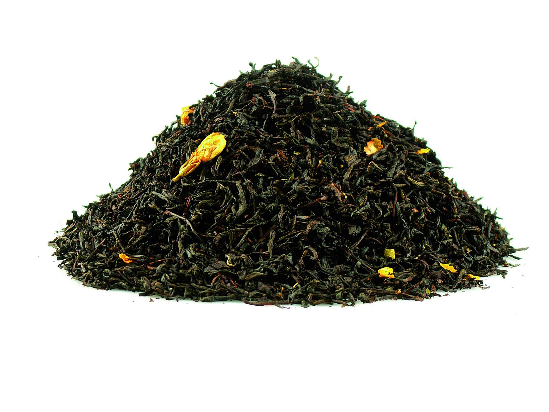Thé noir Earl Grey et fleurs de jasmin