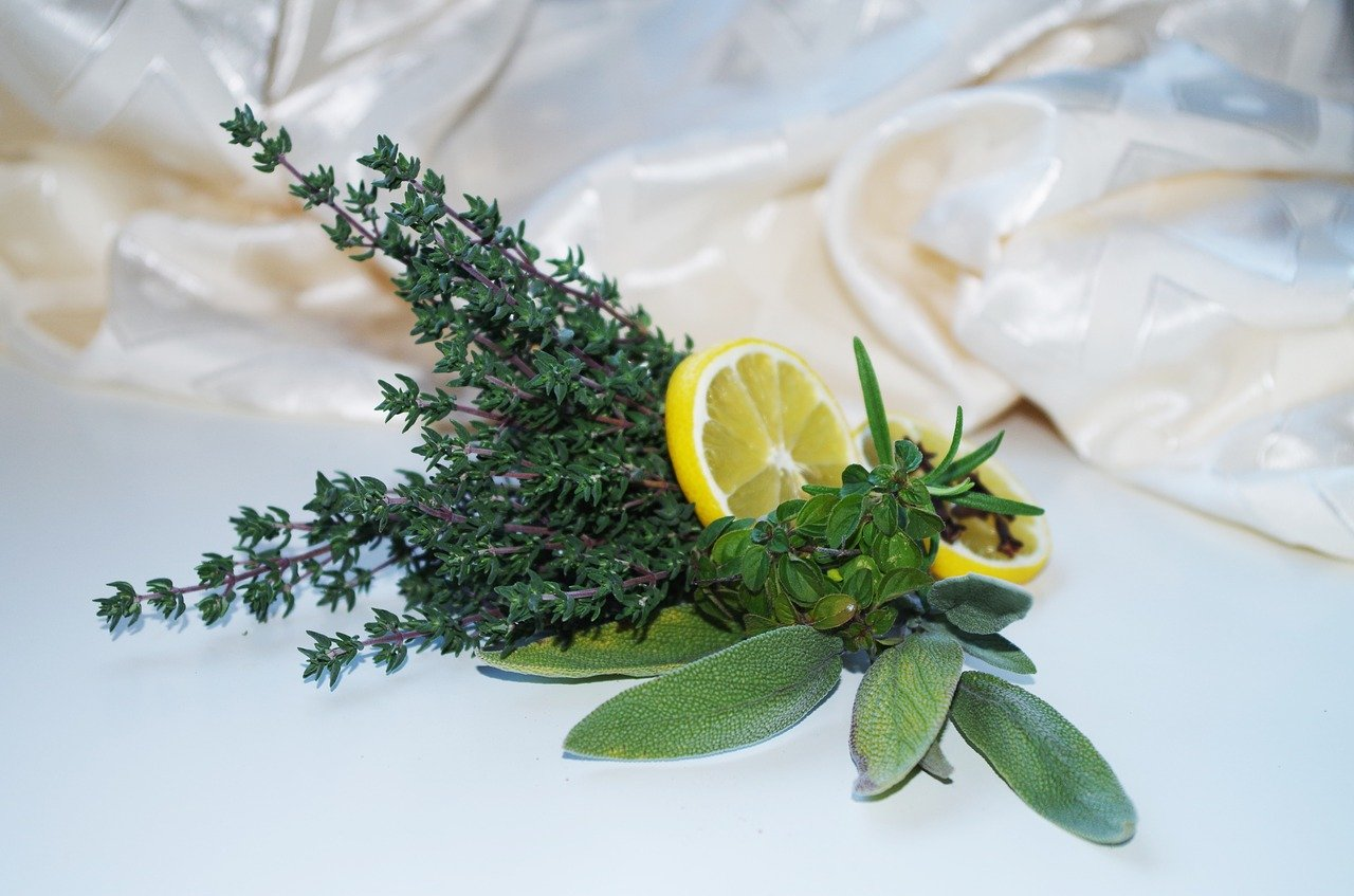 Thé blanc Citron et Romarin BIO