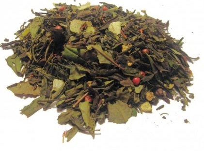 Thé vert et blanc Jardin de marrakech