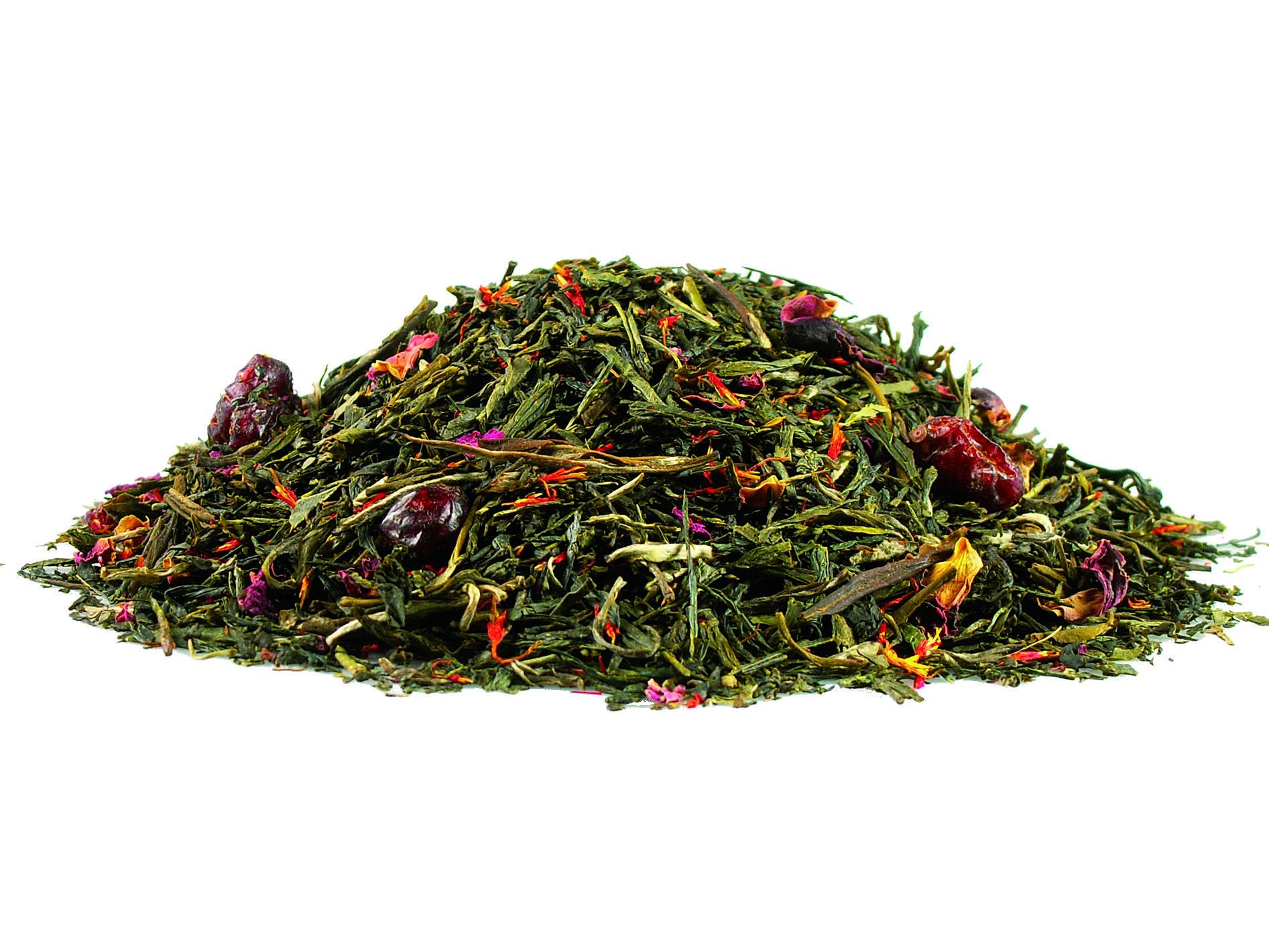 Thé vert fruits des bois