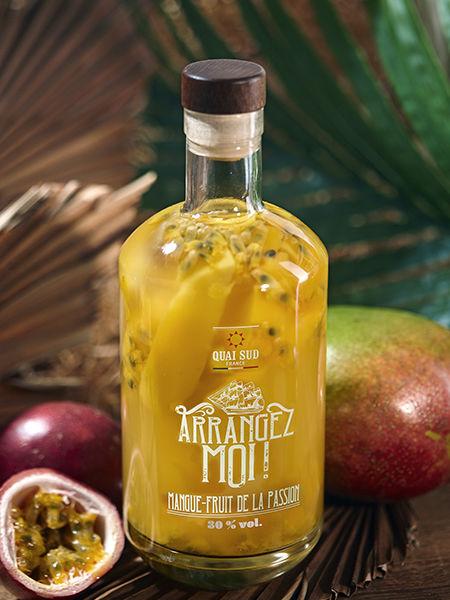 Rhum Arrangez moi Mangue ananas et fruits de la passion