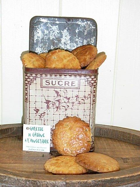 Galette de Gâtine à l\'angélique