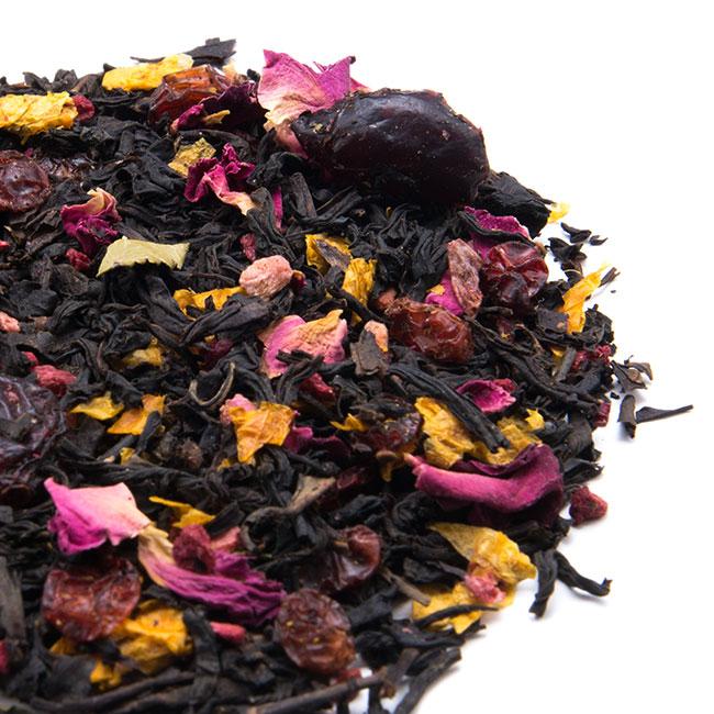 Thé noir Rosé Pamplemousse