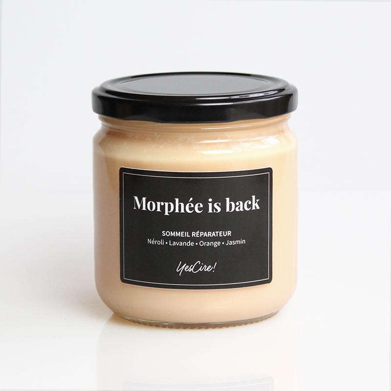 Morphée is back | Bougie sommeil réparateur