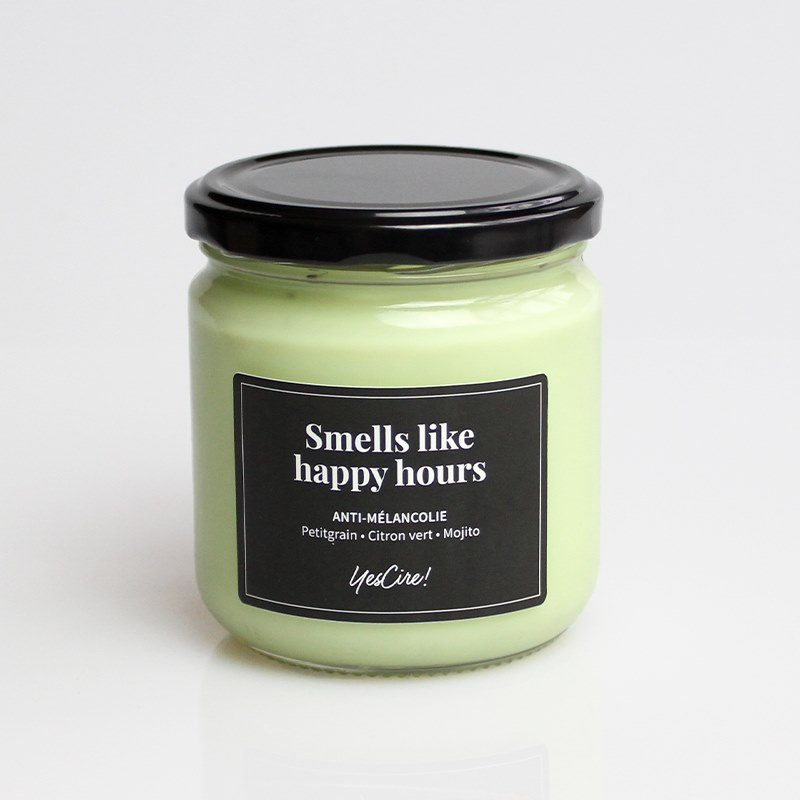 Smells like happy hours | Bougie anti-mélancolie