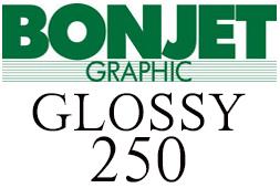 Bonjet graphic GLOSSY 250