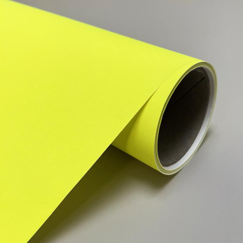papier jaune fluo