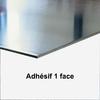 Plaque aluminium adhésif
