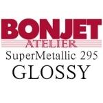 Bonjet Supermetallic Gloss 295Gr/m², 432 mm x 15 m, 1 rouleau / Jusqu'à épuisement des stocks