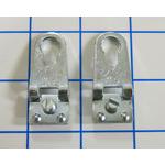 Accroches x2 pour profilés Aluminium