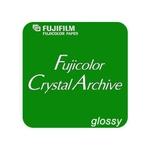 Fuji Crystal Archive Brillant 100 Feuilles 17,8 x 24 cm