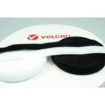 Velcro Adhésif 20 mm x 25m - 2 Rouleaux : Boucles et crochets