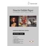 Hahnemühle Sample Pack : Matt Fine Art Lisse (12 feuilles / 6 papiers)