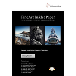 Hahnemühle Sample Pack : Glossy FineArt (16 feuilles / 8 papiers)