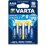 Piles Lr03 AAA High Energy VARTA x4