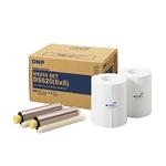 """DNP DS620 Papier Thermique 10X15cm (4x6"""") 2x400 Tirages ou 15x20 (6x8"""") 2x200 Tirages"""