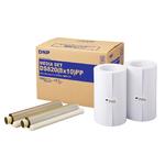 """DNP - Papier Thermique pour DS820 (Premium Digital ) - 20X25CM (8X10"""") 2X130 Tirages"""