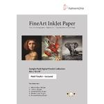 Hahnemühle Sample Pack : Matt Fine Art Texturé, A4 (10 feuilles / 5 papiers)