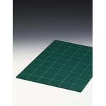 Tapis de coupe Vert quadrillé, 30 x 45 cm (A3)