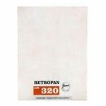 FOMA Retropan 320 ISO - Plan films 9 x 12 cm - 50 feuilles