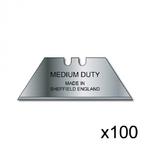 Lame Medium Duty Keencut - Pack de 100 lames
