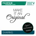 Papier Fujicolor Crystal Archive Brillant, 25,4 x 30,5 cm, 50 feuilles