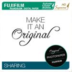 Papier Fujicolor Crystal Archive Suprême HD Brillant, 10,2 cm x 167,6 m, marqué au dos, cartons de 4 rouleaux