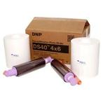 DNP - Consommable thermique pour DS40 - 10x15cm - 800 tirages - Non marqué au dos