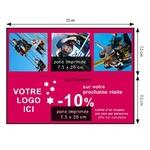 DNP - Consommable thermique pour DS620 (Premium Digital) 15x20cm - 400 tirages - perforé pour 2x 7,5x20cm (spécial événementiel)