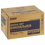 DNP - Consommable thermique pour DS620 15x20cm - 400 tirages - sticker