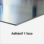 Aluminium 1mm Adhésif 1 face
