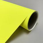 Papier affiche jaune fluo 120g/m, 127 cm x 60 m