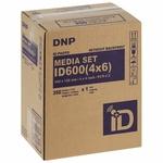 DNP - Papier thermique identité pour ID600 non marqué au dos - 350 tirages 10x15 cm