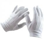 Gants blancs x 12 paires