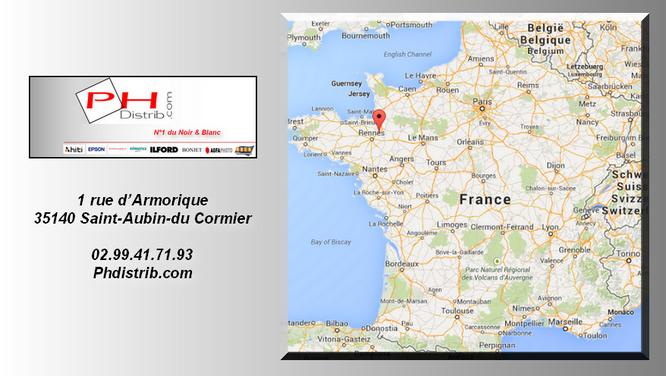 Map France