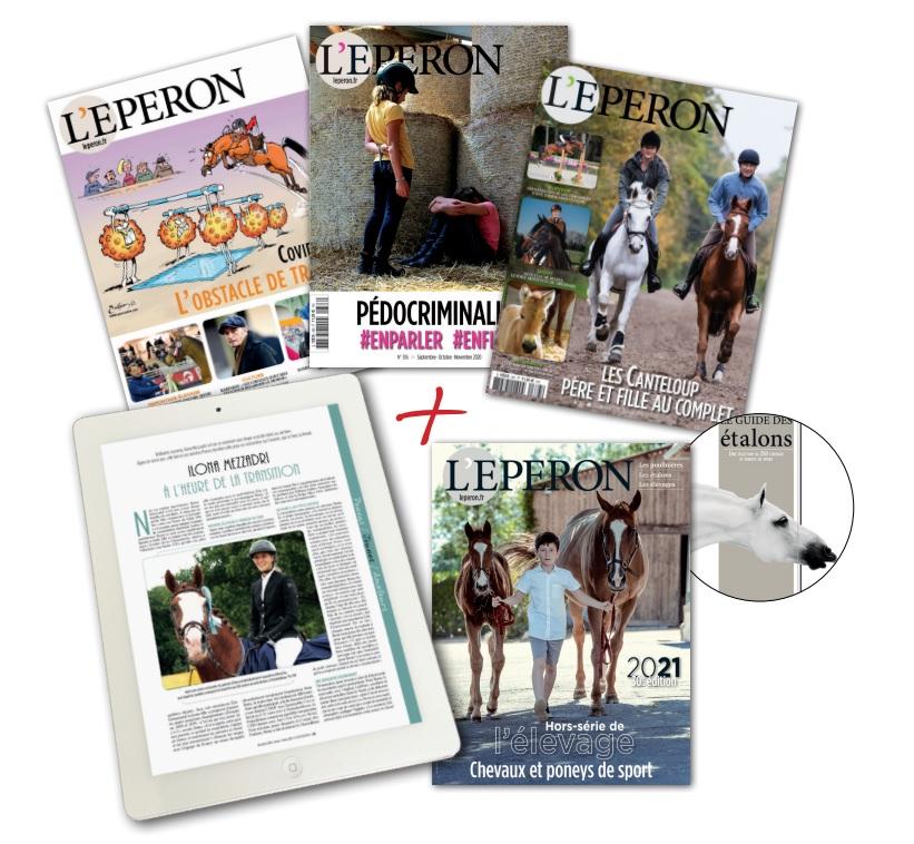 L\'Eperon abonnement 1 an