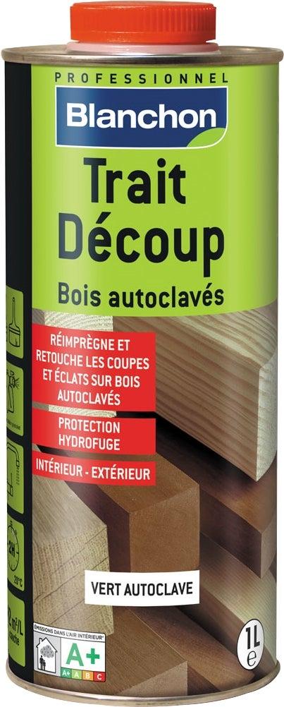 TRAITEMENT DE DÉCOUPE POUR BOIS AUTOCLAVE 1 Litre