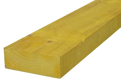 Bastaing 75 x 200 traité classe 2 jaune à l\'unité