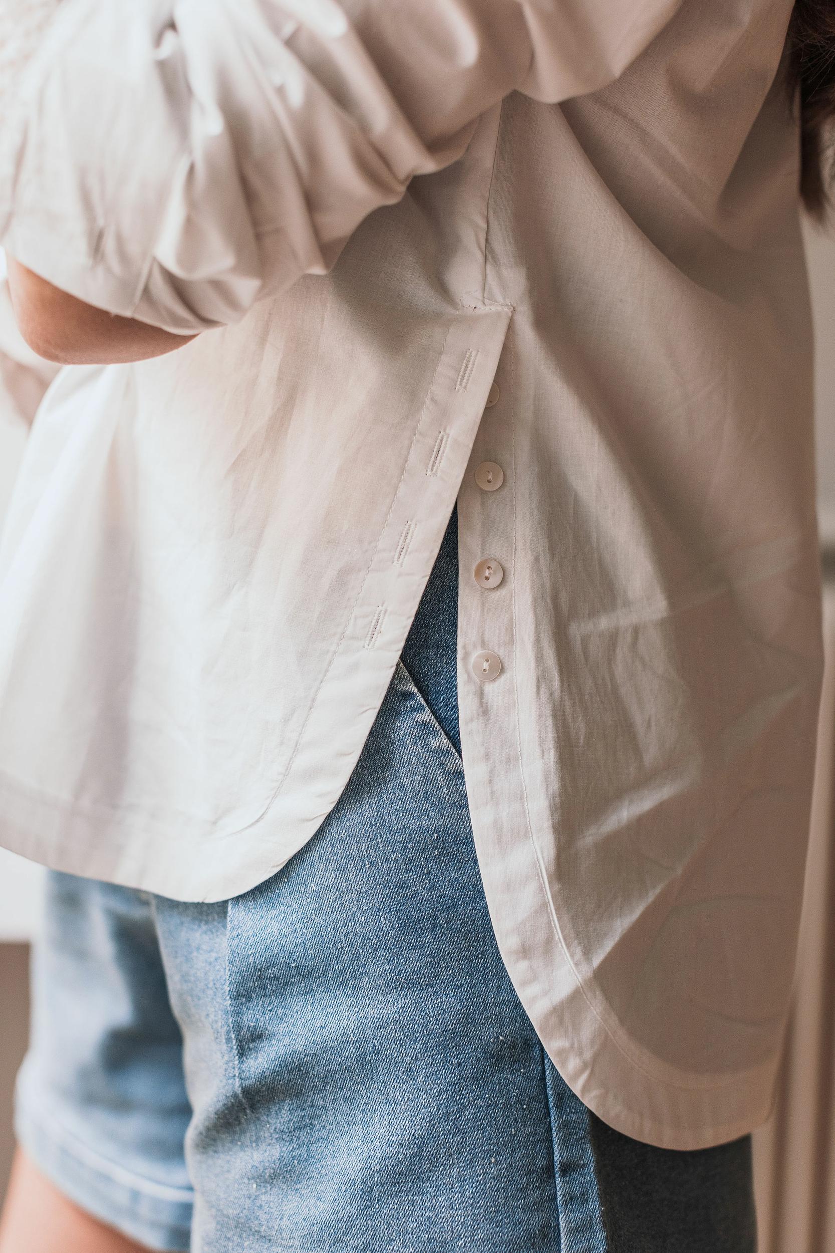 Chemise Aprilia blanche