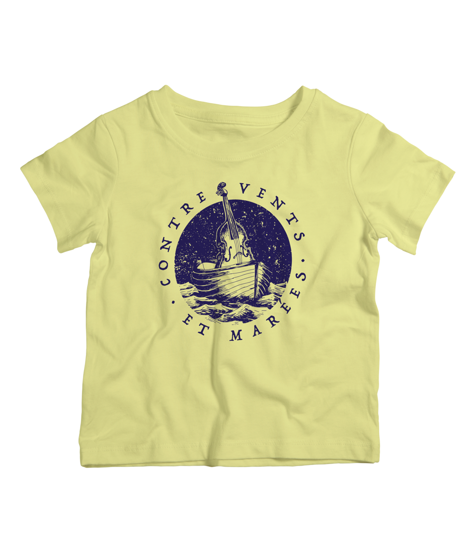 Kids-T-shirt-jaune